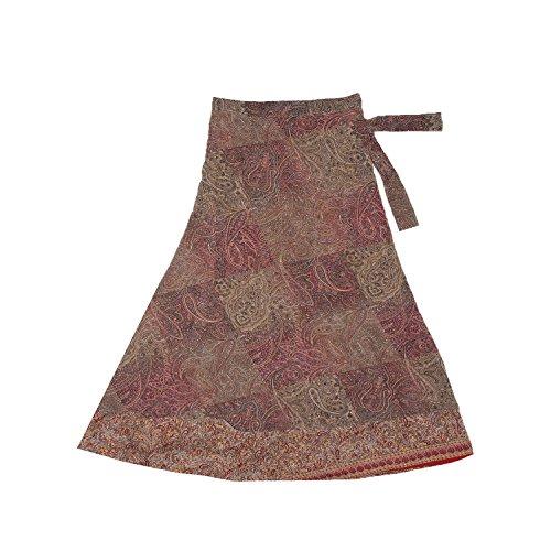 Indian Silk Skirt Dress - 3
