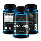 Cheap Pure Nigella Sativa ★ Power Black Cumin Seed Oil x120 Liquid Vegetable Capsules (Easy to Swallow) ★ 500mg Vegan Complex – PowerFoods ★ GMO Free + Natural + Powerful Health Support