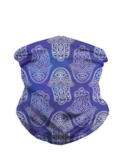 iHeartRaves Tranquil Hamsa Seamless Mask