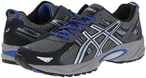 ASICS Men's Gel Venture 5 Running Shoe, Silver/Light Grey/Royal, 10.5 M US by ASICS (Image #14)