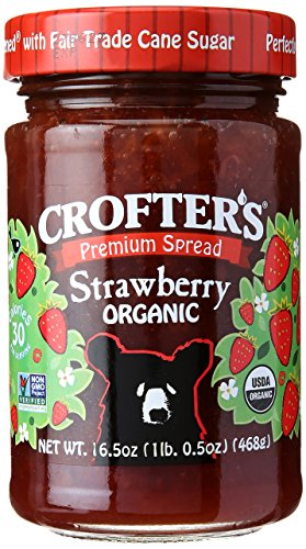 Crofters Strawberry - Crofters Organic Strawberry Premium Spread, 16.5 oz