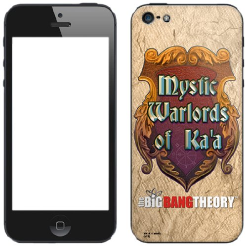 Zing Revolution The Big Bang Theory Premium Vinyl Adhesive Skin for iPhone 5, Mystic Warlords (MS-TBBT150318)