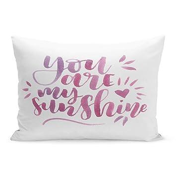 Amazon.com: Fundas de almohada semtomn rojo tee Popcorn y ...