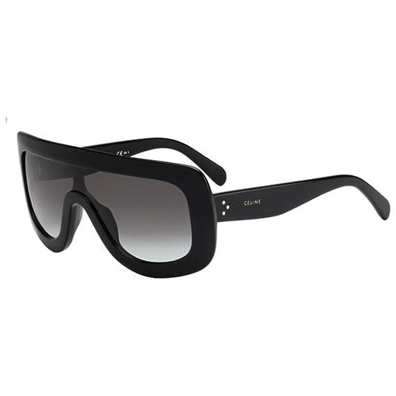 71b5e76b8f Celine 41377 S 807 Black 41377S Visor Sunglasses Lens Category 2 Size 99mm   Amazon.co.uk  Clothing