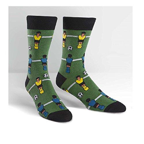 Sock It To Me Men's Fun Crew Socks Sport Party (Goooal)