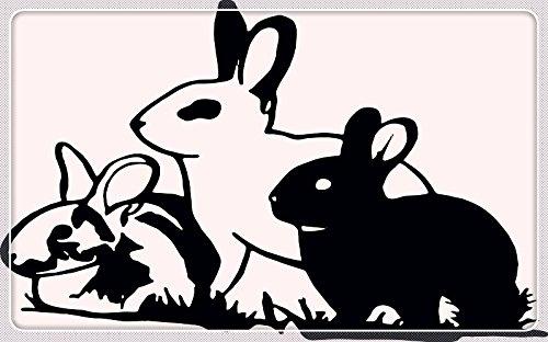 Rabbit Bunny Hare Jackrabbit Furniture & Decorations magnet fridge magnets