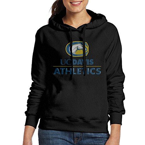 Lonekit Women's UC Davis Aggies Hooded Sweatshirt (University Aggies Scrub)