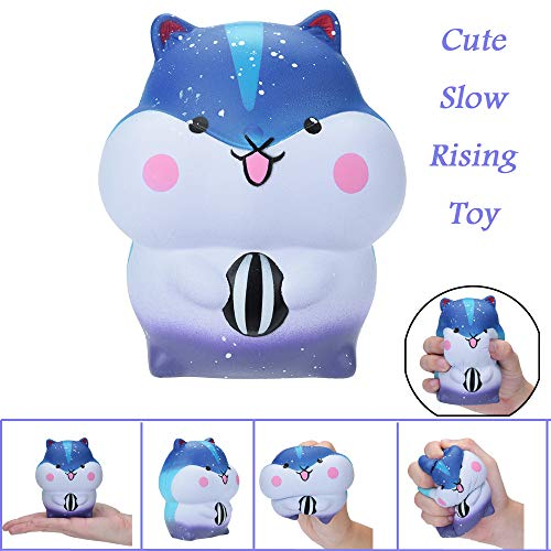 Euone Toy Clearance , Cute Hamster Slow Rising Collection Squeeze Stress Reliever Toys ()