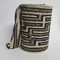 Real Native Colombian Arhuaco handbag - Colombian mochila - Handmade and woven.