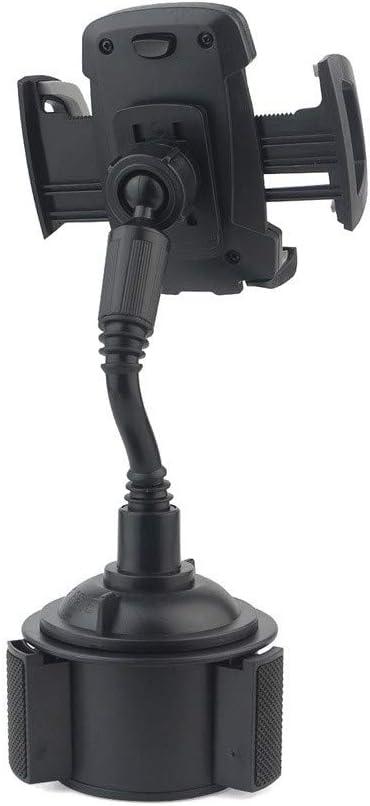 Black QIUUE Universal Car 360/°Adjustable Cup Holder Mount for iPhone 11pro//Pro Max Mobile Phone Bracket Car Bracket Long Hose Holder Inner Control Seat