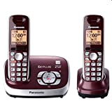 Panasonic KX-TG6572R DECT 6.0 Cordless Phone with