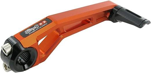 orange f/ür Sachs Speedjet 50 Kickstarter STAGE6 CNC EVO MKII