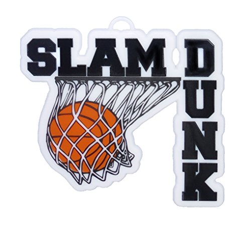 ACI PARTY AND SPIRIT ACCESSORIES Slam Dunk Embellishment, Black Accent -
