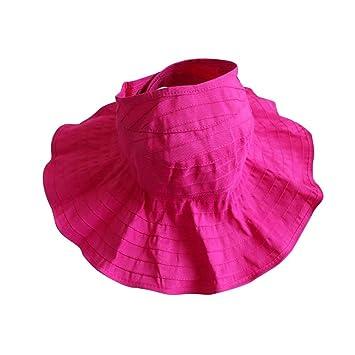 XF Sombrero de Sol para niños - Gorra para niña, Plegable, Verano, Madre e Hija Gorra Junto ...