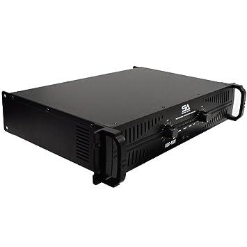 Seismic Audio – mbg-4000 – Amplificador de potencia – 2 x 500 vatios en