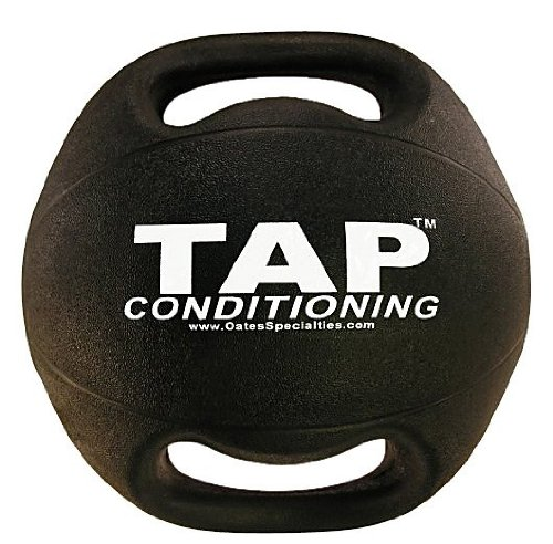 TAP Double Handle Medicine Ball, 10-Pound