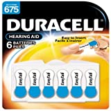Duracell Size 675 Hearing Aid Batteries - 6-pk. by Duracell