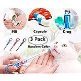 3 Pack Pet Dog Cat Puppy Kitten Medicine Feeder Feeding Tool, Magnoloran Pet Pill Dispenser, Pet Pill Gun, Pet Medicine Water Dropper Feeding Kit, Newborn Dog Cat Small Pet Nursing Feeding Needle Tubing Kit