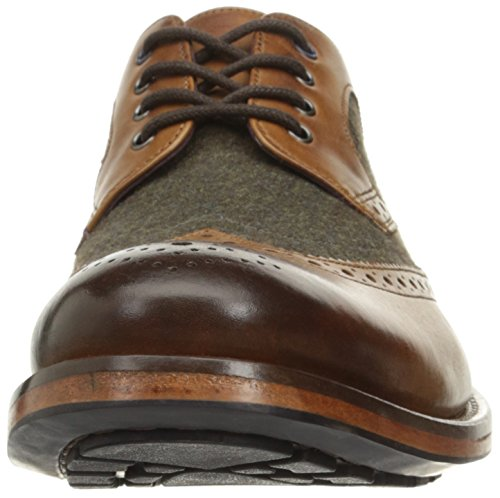 Ted Baker Mens Cassiuss 4 Lthr Am Tan / Brun Oxford Tan / Brun