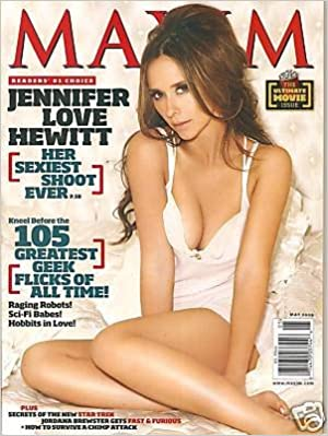 hewitt magazine shoots nude Jennifer love