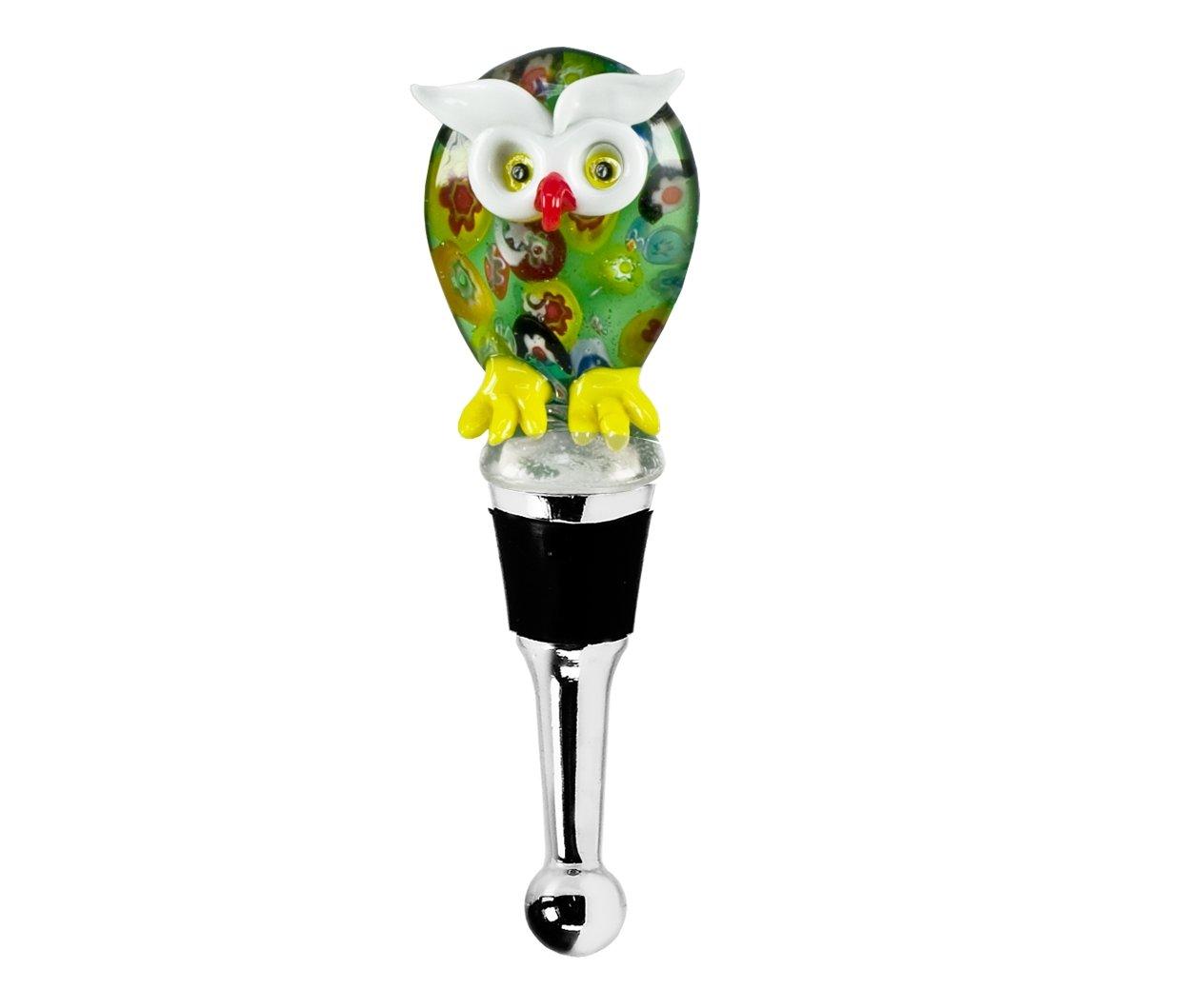 Flaschenverschluss- Eule- Glas Glas Glas B00UCRL25S   Niedriger Preis  58003d