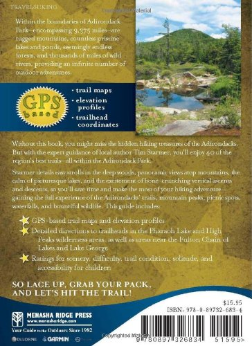 FiveStar Trails in the Adirondacks A Guide to the Most Beautiful