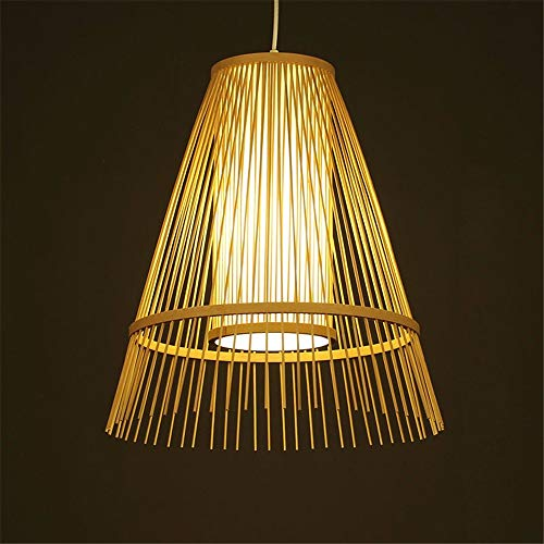 OVIIVO Creative Table Lamp Desk Lamp Pendant Light Simple Garden Chandelier Tea House Bamboo lamp Bedside Entrance Garden Using for Reading, Working by OVIIVO (Image #2)