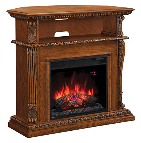 ClassicFlame 23DE1447-O107 Corinth Wall or Corner TV Stand for TVs up to 47