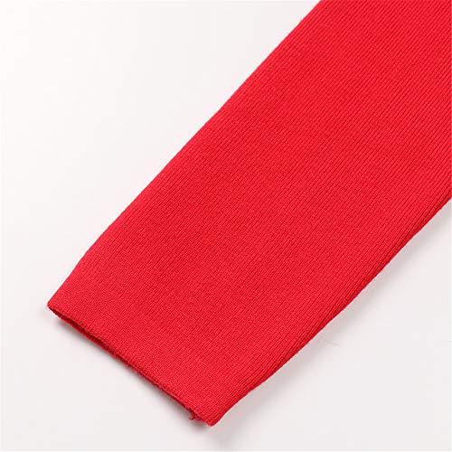 Principessa Invernali Festa Sexy Casual Pullover Donne Maniche Melodycp line Donna Red Lunghe Vestito A Abbigliamento Abito Abiti Red Elegante Da Maglia Matrimonio Small qxHw6w7tT