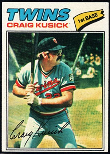Baseball MLB 1977 Topps #38 Craig Kusick Twins