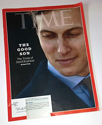 Time, June 12, 2017 (The Good Son: The Trials of Jared Kushner)