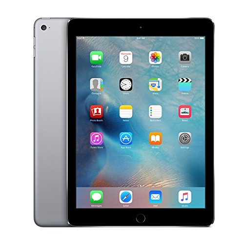 Apple iPad Air 2, 64 GB, Space Gray, (Certified Refurbished)