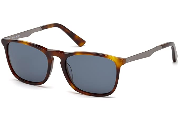 Gafas de sol Web WE0154 C54 52V (dark havana / blue): Amazon ...
