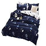 Sookie 3 Piece Bedding Set - Luxurious&Extremely Durable Premium Bedding Collection - Planet Star - Queen Size