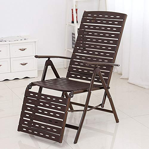 DEED Loungers Chair Seaside Vacation Recliners,Wicker Lounge Chair,Lunch Break Folding Rattan Lounge Chair,Office Napping Chair,Home Balcony Lazy Rocking Chair,Home Outdoor Portable Chair (Rattan Difference Between And Furniture Wicker)