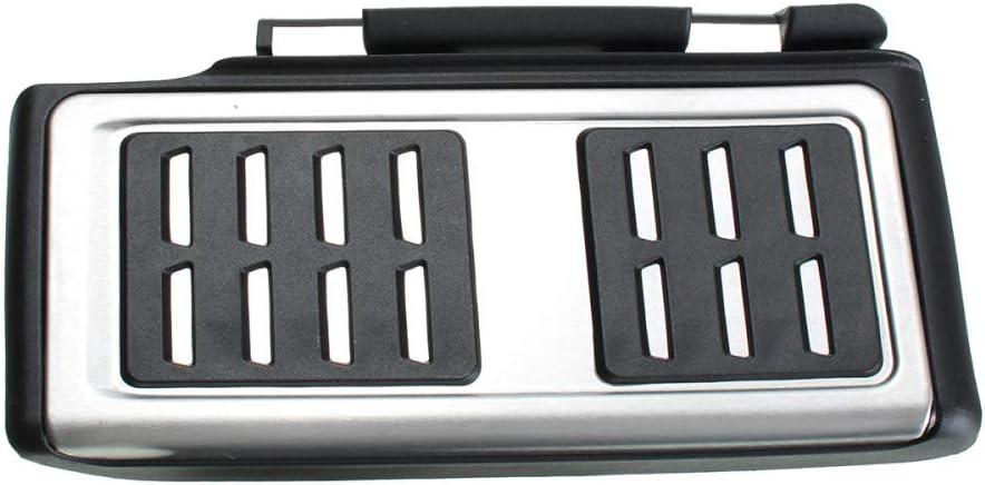pour VW//Golf 7 GTI MK7 pour Audi A3 8V // Passat DHFBS Couvertures de Coussin de Repose-Pied de p/édale d/acc/él/érateur de Frein dembrayage de Voiture/ pour Skoda//Octavia A7