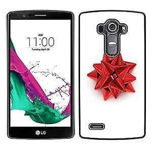 "For LG G4 , S-type Decoración de Navidad Roja"" - Arte & diseño plástico duro Fundas Cover Cubre Hard Case Cover"