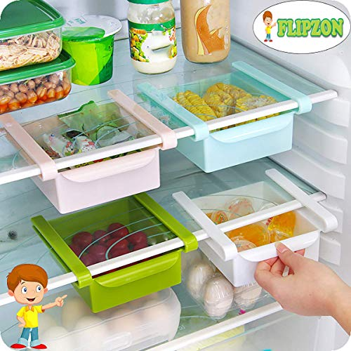 Flipzon Refrigerator Storage Rack