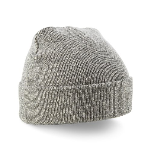 Beechfield – Gorro de punto Gris - Heather Grey