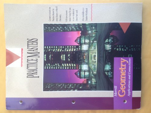 Merrill Geometry Applications and Connections: Complete Solution Manual -  Teacher's Edition, Paperback