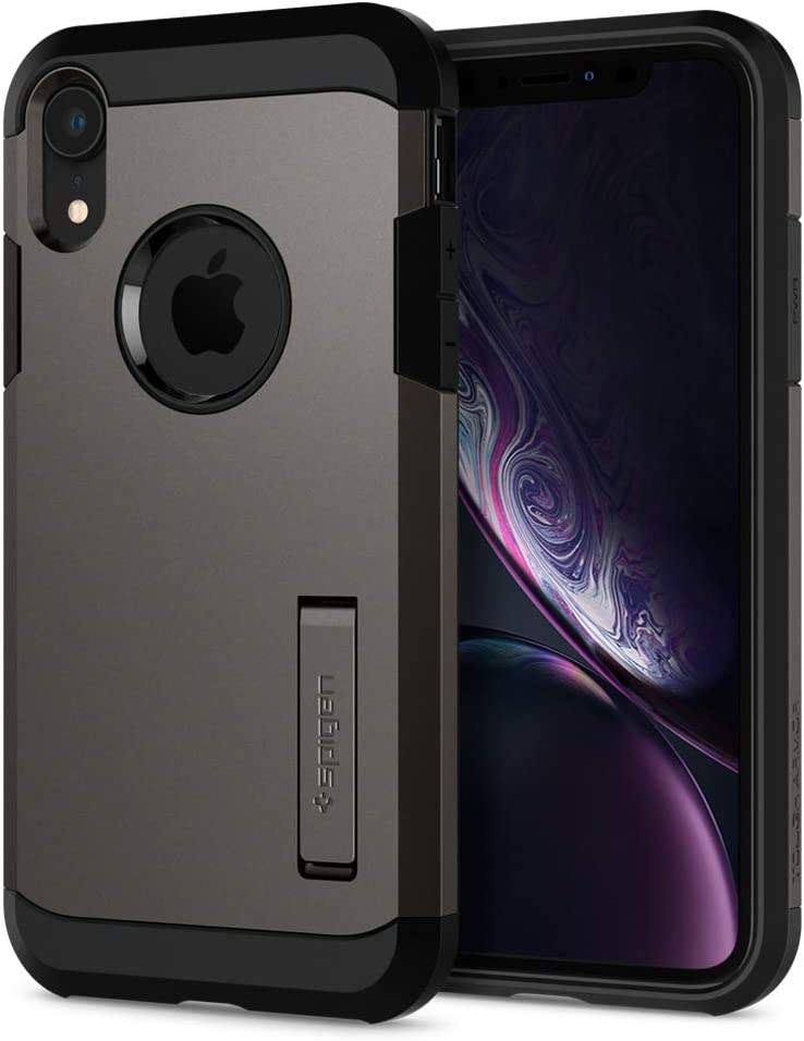 Spigen Tough Armor Designed for Apple iPhone XR Case (2018) - Gunmetal