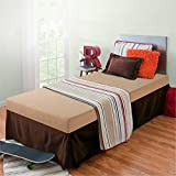 Zinus Memory Foam 5 Inch Bunk Bed/Trundle Bed/Day Bed/Mattress, Twin, Khaki