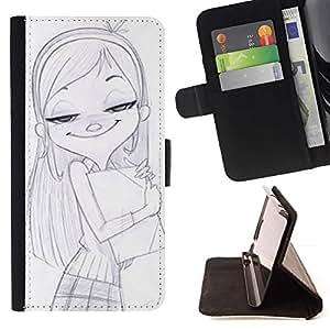Momo Phone Case / Flip Funda de Cuero Case Cover - Disegno - Samsung Galaxy S4 IV I9500