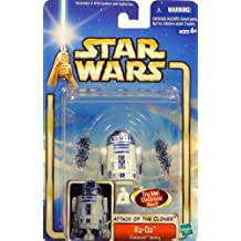 Star Wars : Episode 2 R2-D2 (Coruscant Sentry With Backdrop) Action Figure