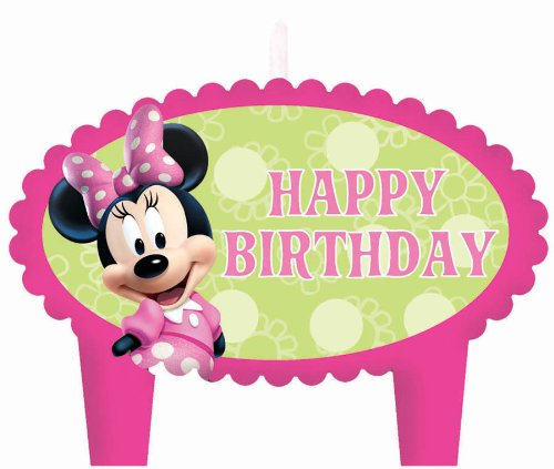 Mini Molded Cake Candles (Minnie Mouse