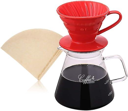 Cafeteras de goteo Juego de jarra para cafetera de goteo Conjunto ...