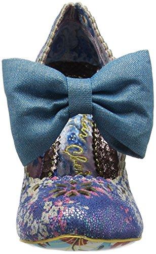 Uregelmæssig Valg Dame Primula Bakke Mary Jane HalbSko Blå (blå) lYmuF4NH