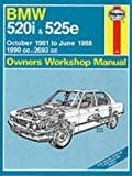 BMW 520i and 525e 1981-88 Haynes Workshop Manual (Service & Repair Manuals) by A. K. Legg (1991-01-01)