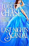 Front cover for the book Last Night's Scandal by Loretta Chase