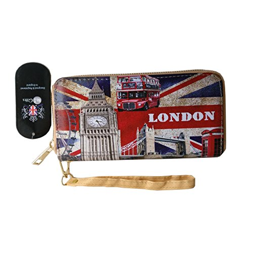 SELLER Union London PR020 UK Long Jack Souvenir Purse PWZEwxnq